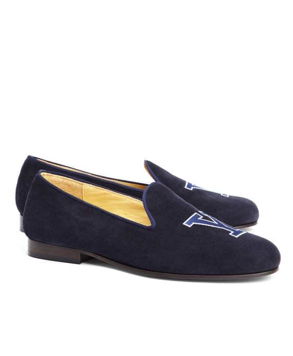 JP Crickets Yale University Shoes Blue