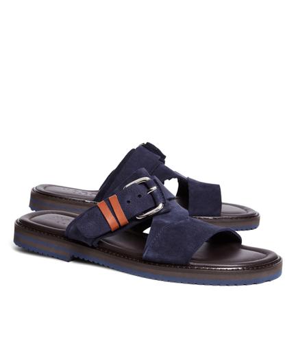 Harrys Of London Luke Kudu Strap Sandals