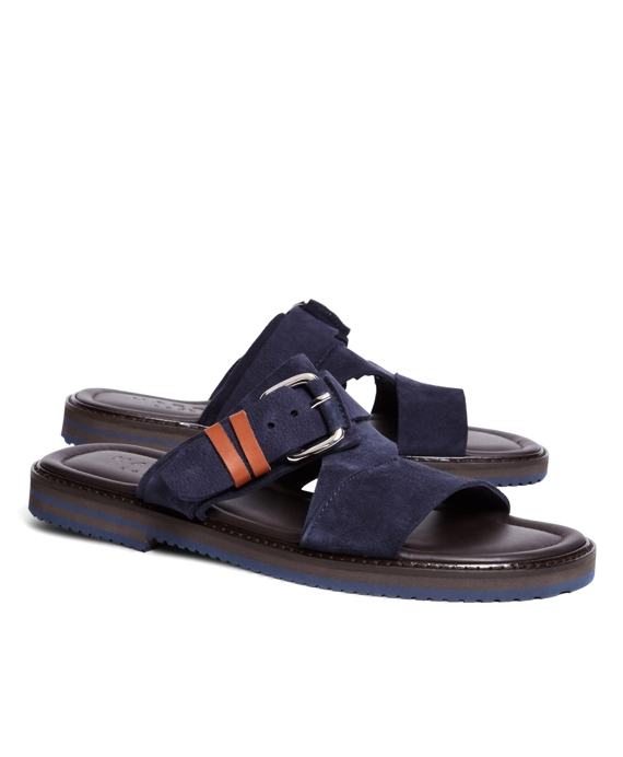 Harrys Of London® Luke Kudu Strap Sandals Navy