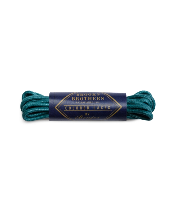"""Brooks Brothers 27"""" Round Waxed Colored Laces by Benjo's"""