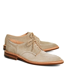 Suede Contrast Stitch Oxfords