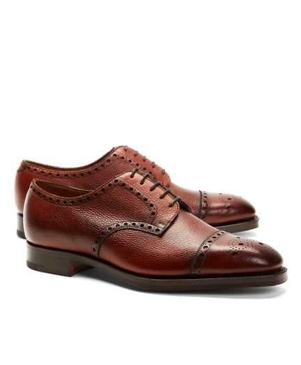 Edward Green Monmouth Pebble Half-Brogues