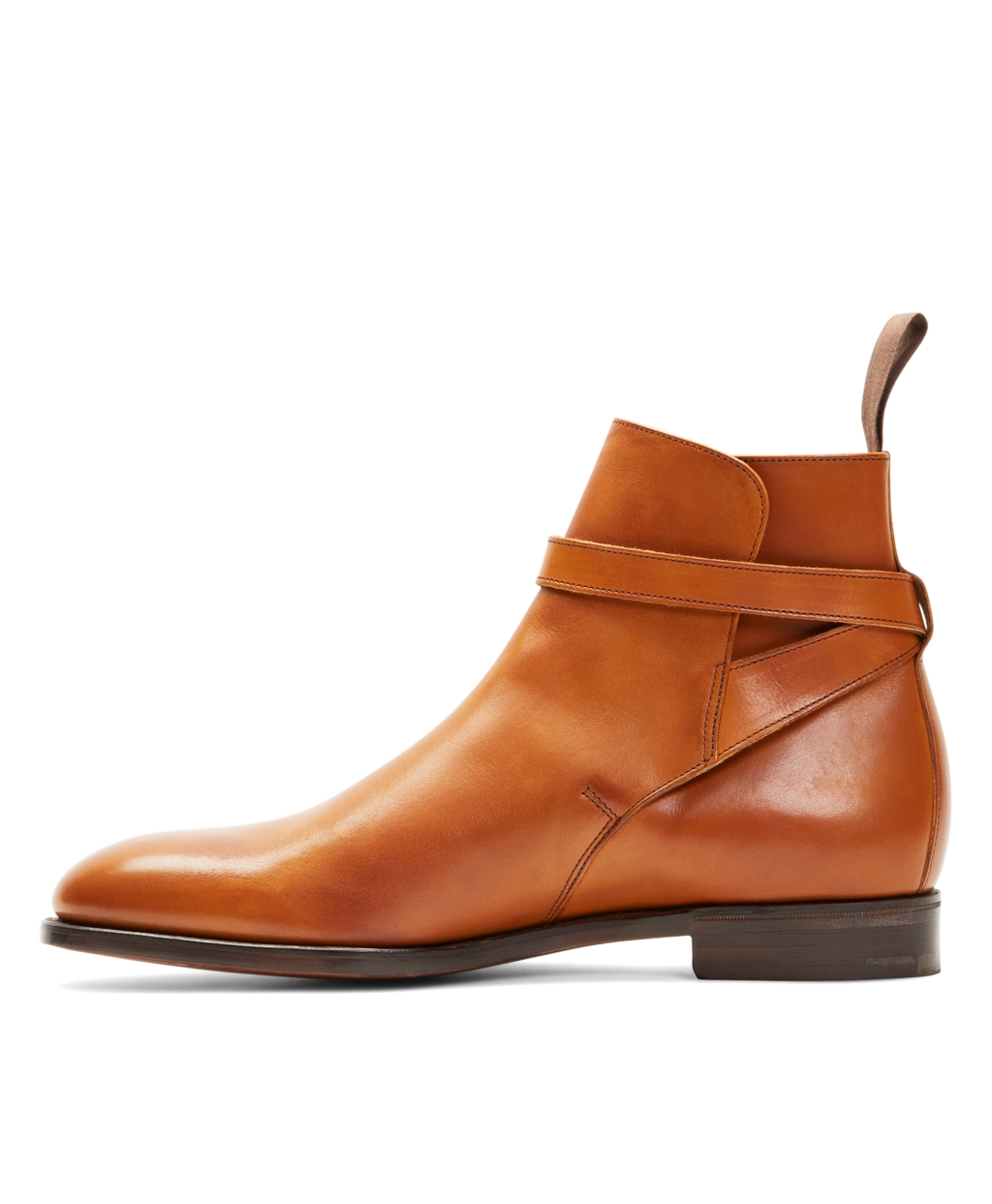 Men's Peal and Co. Leather Ankle Strap Buckle Boots | Brooks Brothers