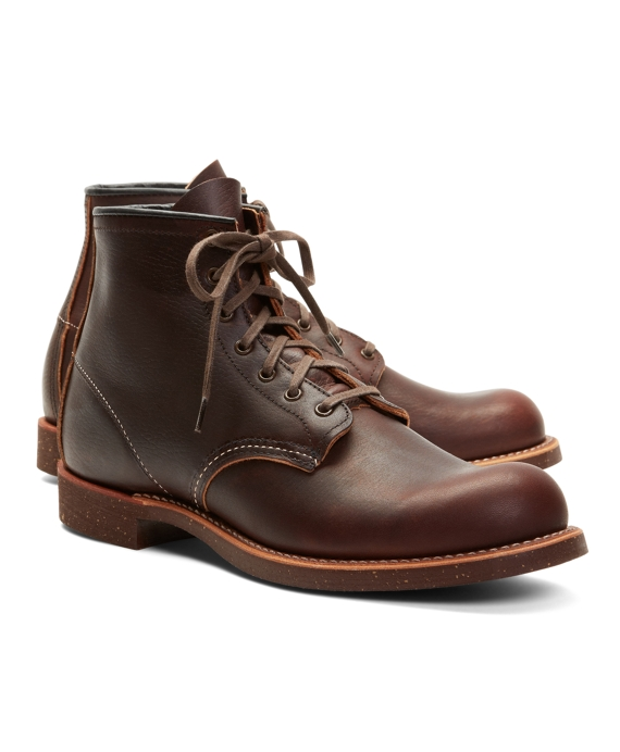 Red Wing for Brooks Brothers 4522 Brown Pebble Leather Boots Brown