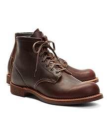 Red Wing for Brooks Brothers 4522 Brown Pebble Leather Boots