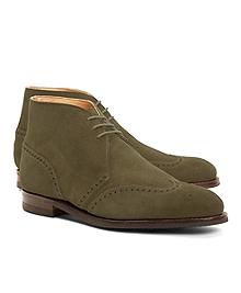 Peal & Co.® Suede Wingtip Boots