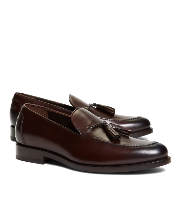 Image result for dark brown tassel loafer