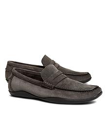 Harrys of London Suede Basel Loafers