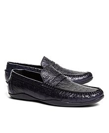 Harrys Of London® Ostrich Basel Loafers