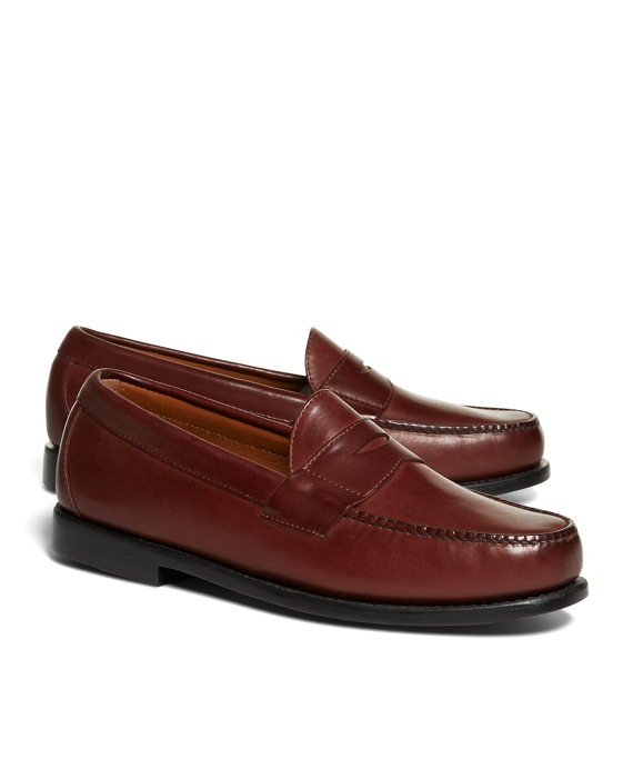 Classic Penny Loafers Brown