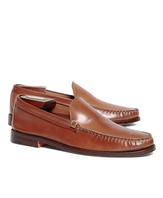 Rancourt & Co. Cordovan Venetian Loafers Tan