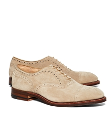 Suede Perforated Captoes