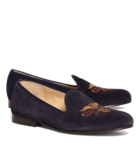 JP Crickets Brooks Brothers Eagle Shoes Navy