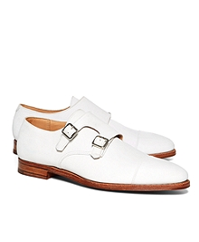 Peal & Co.® Nubuck Double Monk Straps