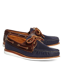 Rancourt & Co. Waxed Canvas Boat Shoes