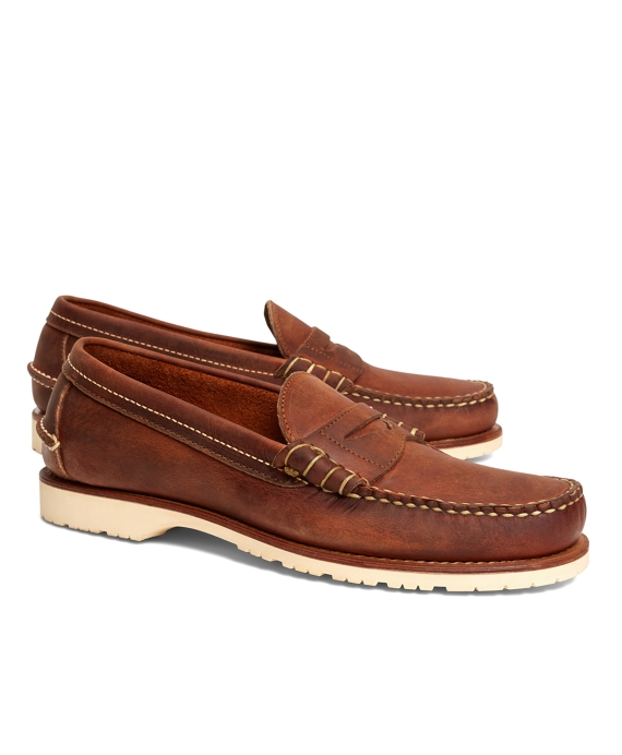 Red Wing Copper Mini Lug Penny Loafers
