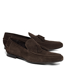 Suede Tassel Loafers