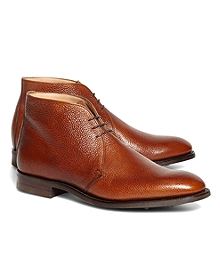 Peal & Co.® Cognac Pebble Chukkas