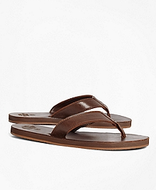 Leather Flip-Flops
