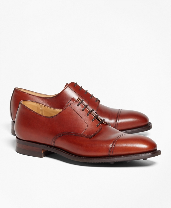 Peal & Co.® Square Captoes Chestnut