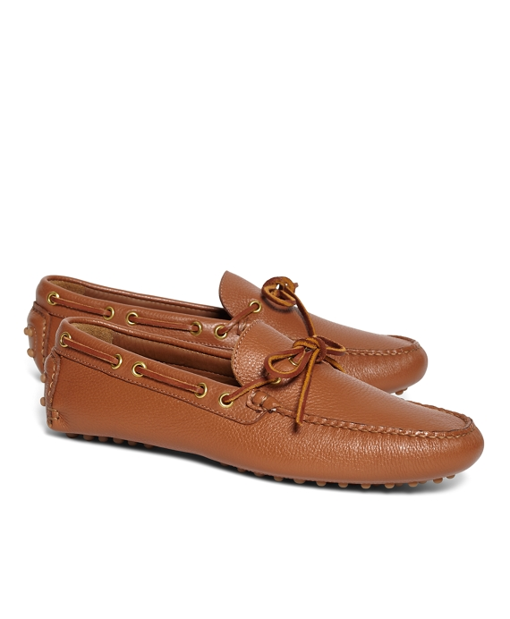 Tie Driving Moccasins