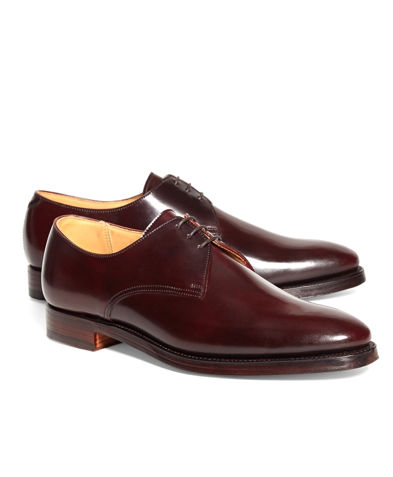 Peal & Co.® Cordovan Bluchers Burgundy