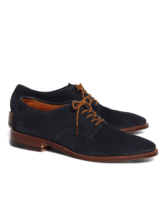 Suede Bluchers Navy