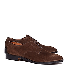 Unstructured Suede Blucher