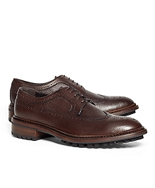 Pebble Leather Wingtips