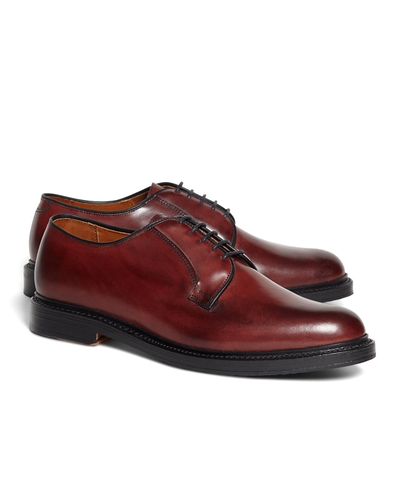 Plain Toe Bluchers Burgundy