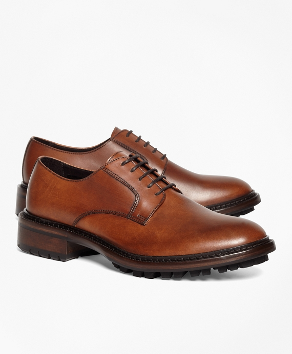 Derby Shoes Cognac