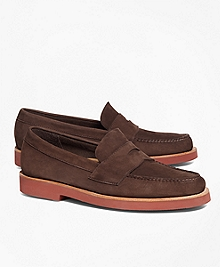 Nubuck Penny Loafers