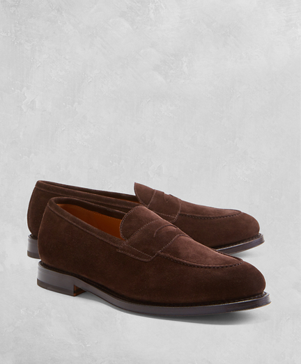 Golden Fleece® Suede Penny Loafers