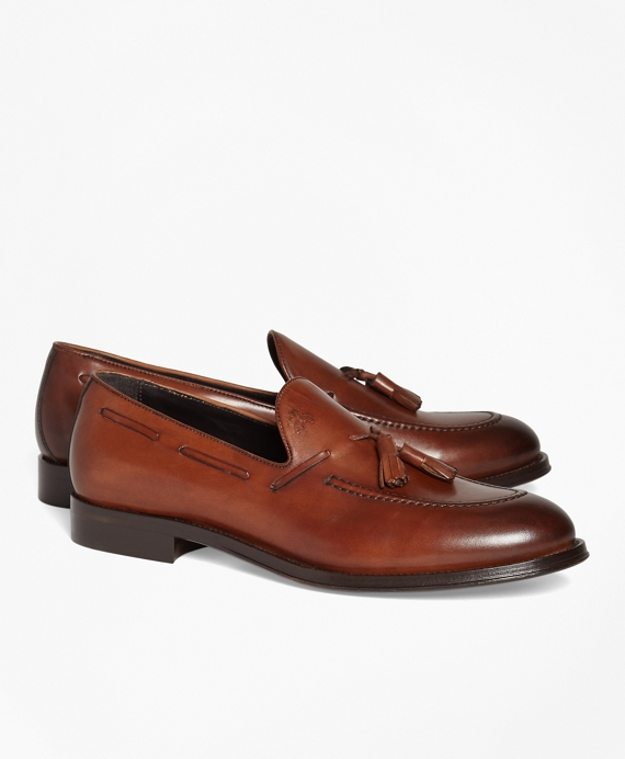 1818 Footwear Leather Tassel Loafers