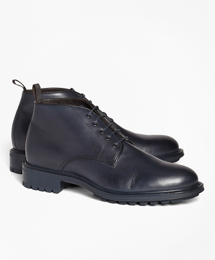 1818 Footwear Lug-Sole Leather Chukka Boots