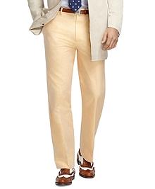 Madison Fit Americana Plain-Front Dress Trousers
