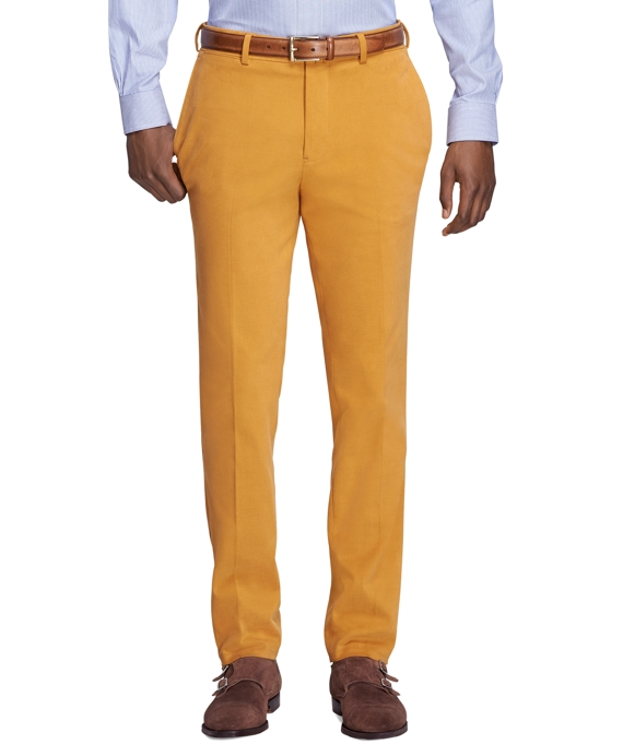 Milano Fit Dress Chinos Mustard