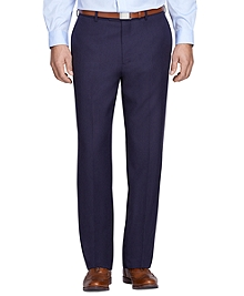 Madison Fit Herringbone Trousers