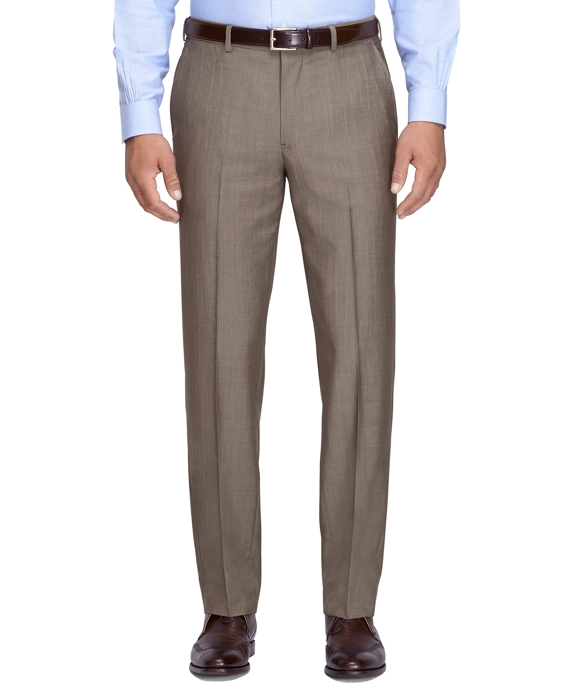 Fitzgerald Fit Mohair Trousers Tan