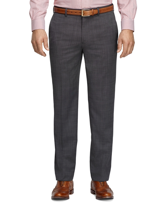 Fitzgerald Fit Mohair Micro Tic Trousers Grey