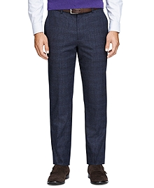 Fitzgerald Fit Tonal Plaid Trousers