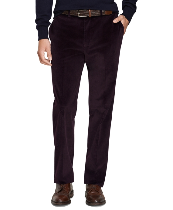 Men's Slim Fit Stretch Corduroy Pants | Brooks Brothers