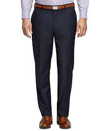 Madison Fit Houndstooth Trousers