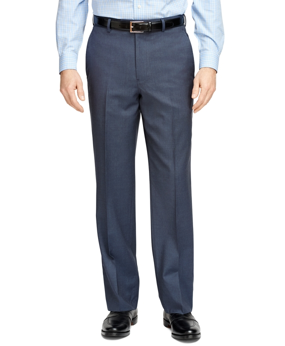 Madison Fit Check Trousers Charcoal-Blue