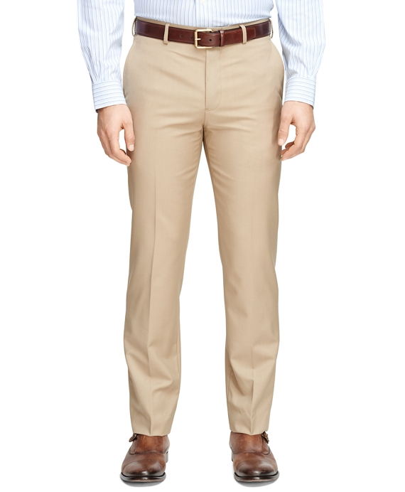 Men's Fitzgerald Fit Wool and Mohair Dress Pants| Brooks Brothers