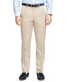 Regent Fit Own Make Tan Dress Trousers