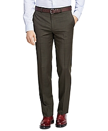 Fitzgerald Fit Wool and Mohair Check Trousers