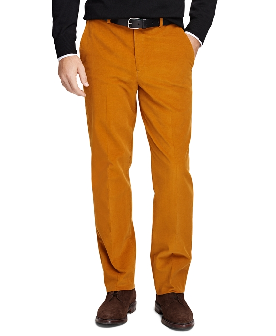 Fitzgerald Fit Corduroy Trousers Gold