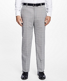 Madison Fit BrooksCool® Plaid Trousers