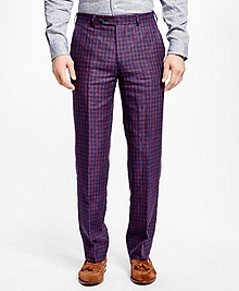 Fitzgerald Fit Multi Deco Linen Trousers